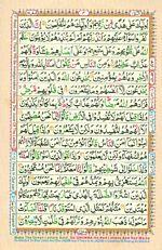 Online Colored Quran Juz 01 Page 04