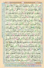 Online Colored Quran Juz 01 Page 06