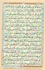 Online Colored Quran Juz 01 Page 14