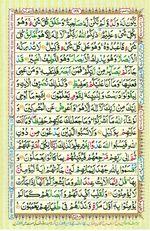 Online Colored Quran Juz 07 Page 128