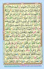 Online Colored Quran Juz 14 Page 246