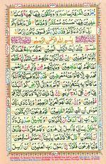 Online Colored Quran Juz 19 Page 331