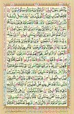 Online Colored Quran Juz 25 Page 448