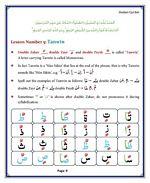 read Noorani Qaida Madni English page 09