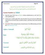 read Noorani Qaida Madni English page 46
