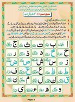 read Noorani Qaida Madni Urdu page 02