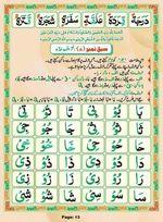 read Noorani Qaida Madni Urdu page 12