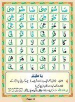 read Noorani Qaida Madni Urdu page 13
