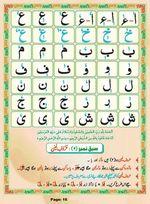 read Noorani Qaida Madni Urdu page 15