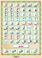 read Noorani Qaida Madni Urdu page 20
