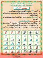 read Noorani Qaida Madni Urdu page 25