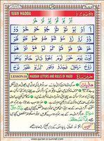 read Noorani Qaida Version Six page 27